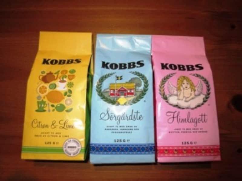 スウェーデンの紅茶が、「KOBBS(コブス)」です。スウェーデンには、おいしいフレーバーティーがたくさんあります。パッケージもかわいいですし、お値段もお手ごろ。紅茶好きの方にはきっと喜ばれると思います。