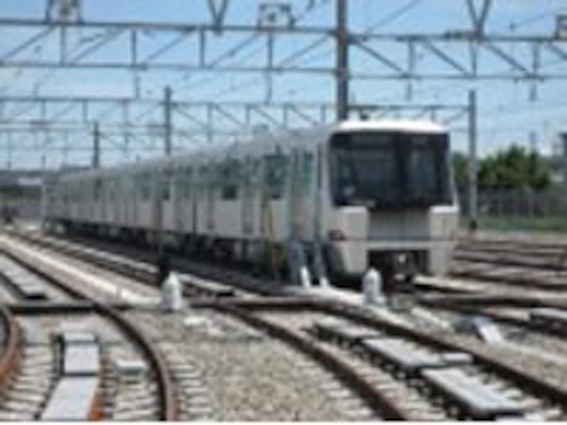 3月30日に開業するグリーンラインの車両(横浜市交通局HPより)
