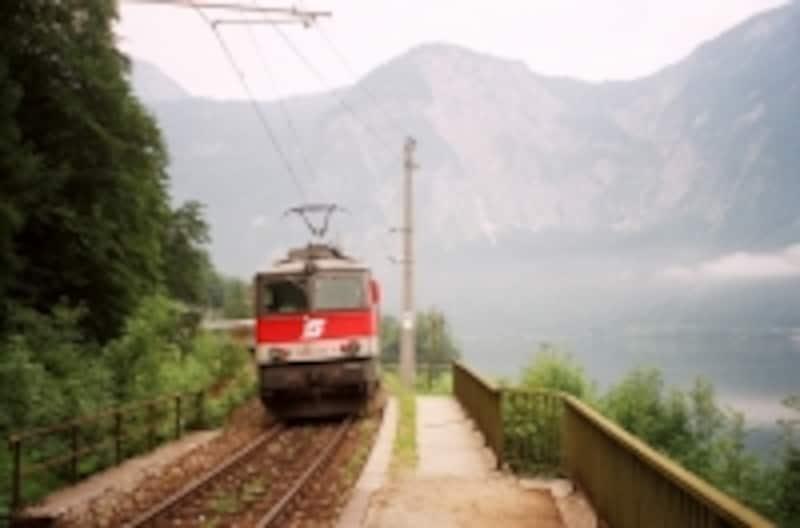 本当に小さなハルシュタット駅