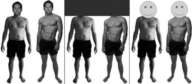 左はポッチャリ、右は筋肉隆々、赤ちゃんが選んだのは?