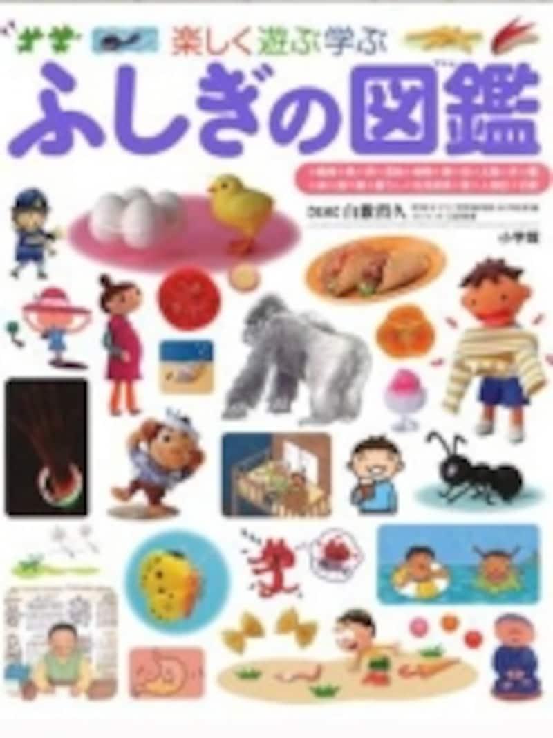 子どもたちの「なぜ?」を解決する「楽しく遊ぶ学ぶふしぎの図鑑(2940円)