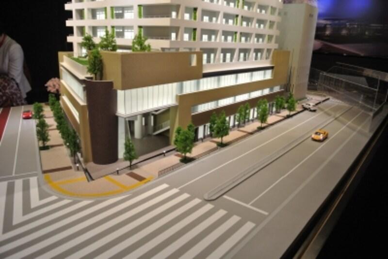 建物の低層部