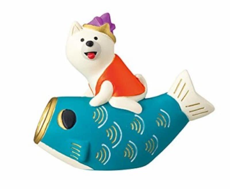 デコレの鯉のぼりわんこ