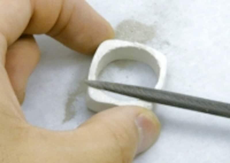 アートクレイシルバーリング