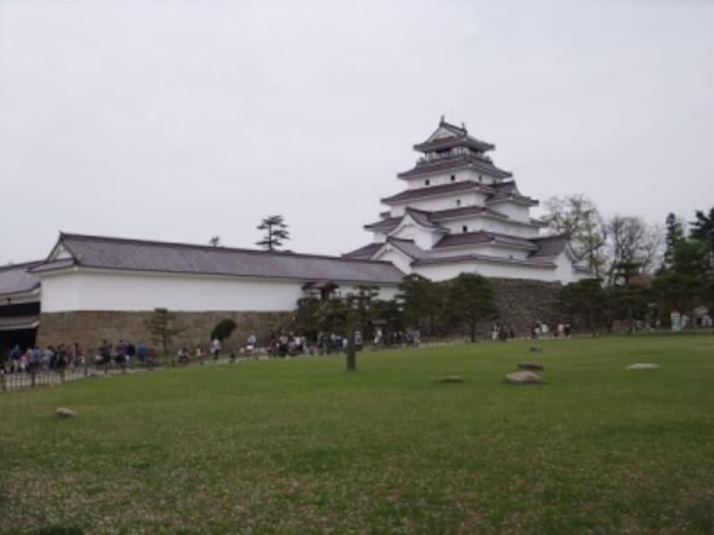 鶴ヶ城・天守閣(1)
