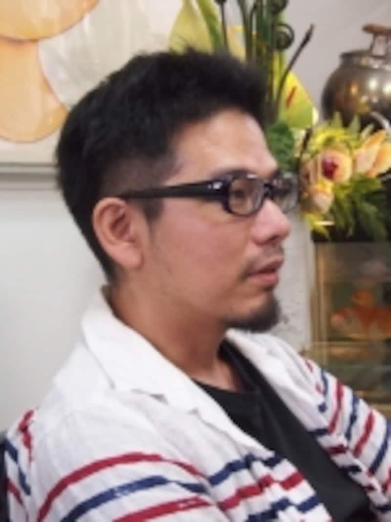 金魚絵師とも呼ばれる深堀隆介さん