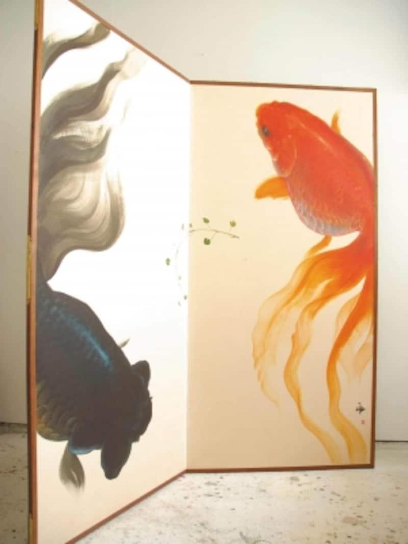 屏風-金魚の間undefinedkingyonoma
