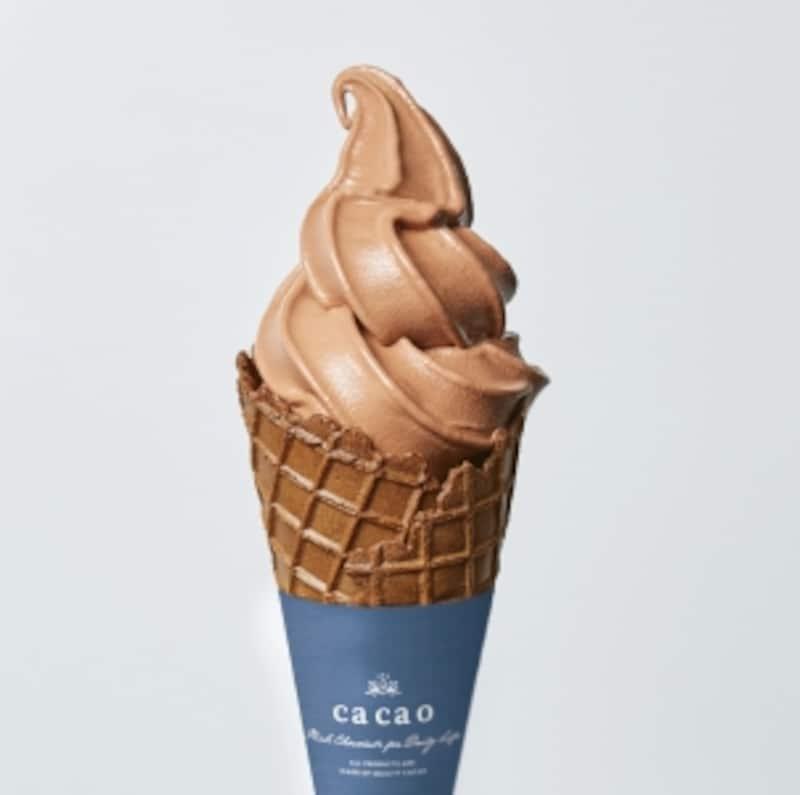 生チョコソフトクリーム400円(税抜)/cacao2018版