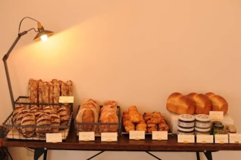 パンは全部で5種類ほど