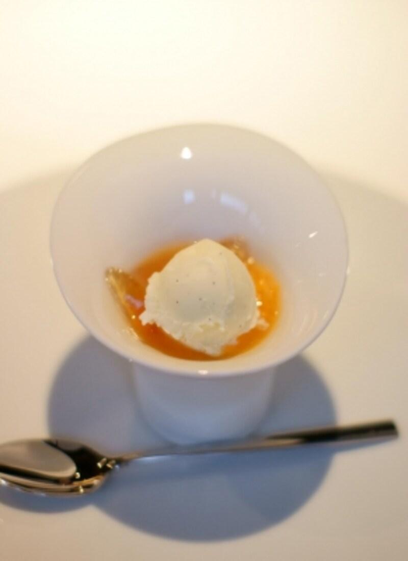 清見オレンジのサラダundefinedソーテルヌのジュレ