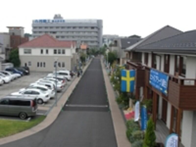 横浜の展示場