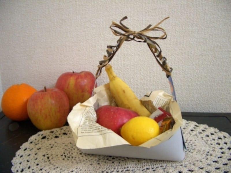 ミニフルーツバスケットのプレゼント