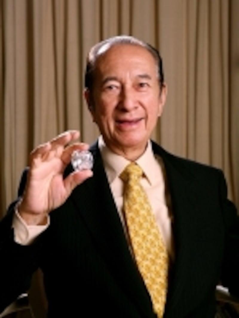 マカオのカジノ王として知られるスタンレー・ホー博士(c)HotelLisboaGroup