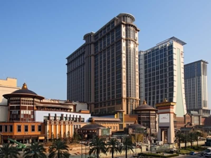 サンズコタイセントラル外観(c)SandsCotaiCentral