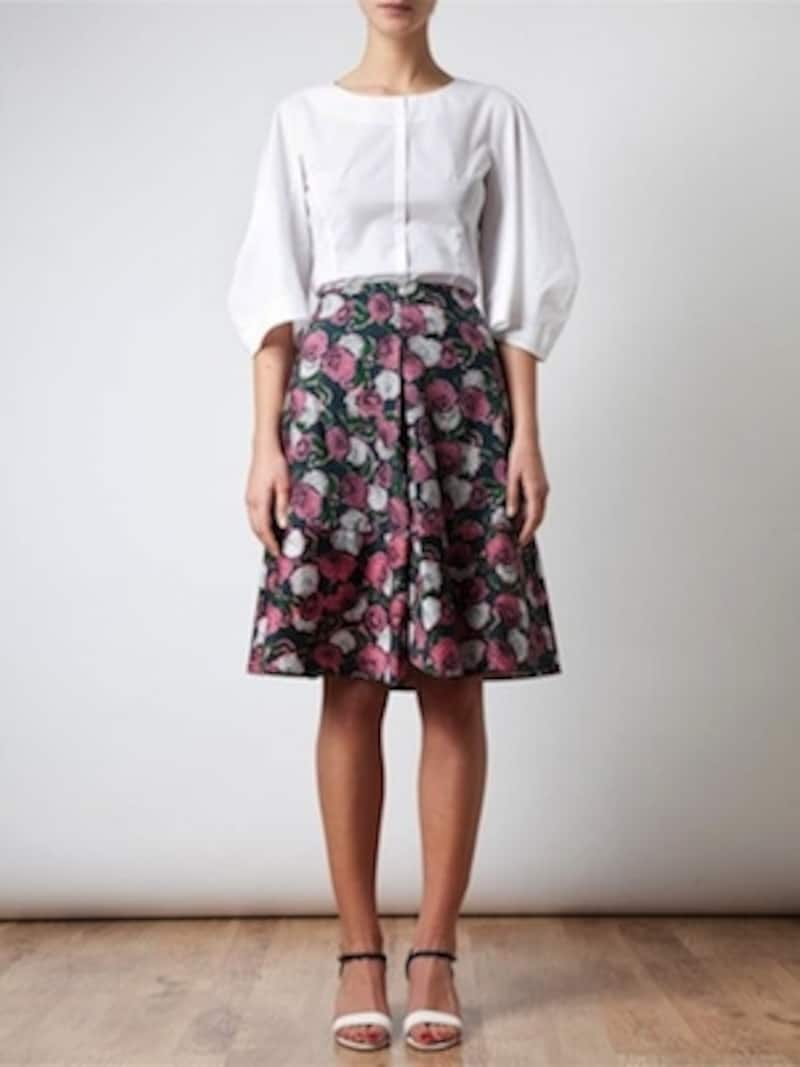 MARNI(マルニ)/Floral Printed Cotton Skirt