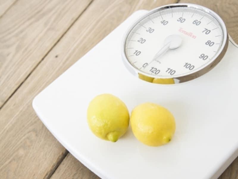 少しずつ増えていく体重にストップ!