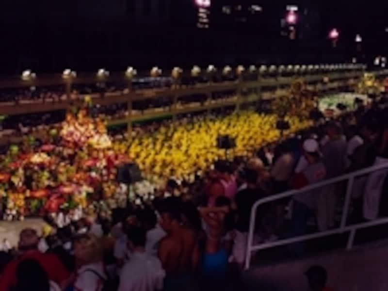 リオのカーニバル、サンボドロモのパレード