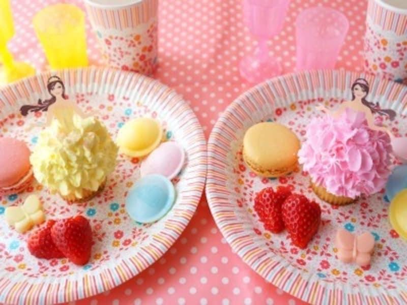 ドールカップケーキ二人
