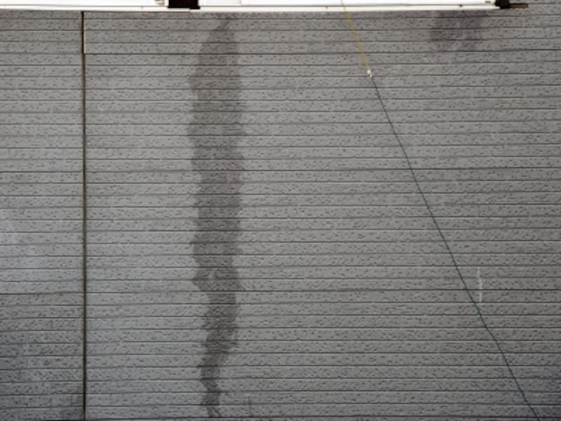 外壁のシミ