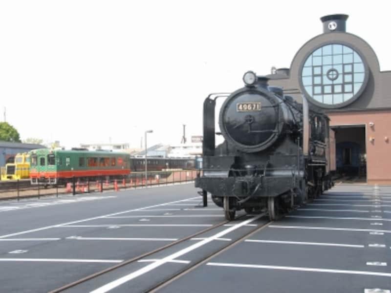 真岡鉄道と9600形