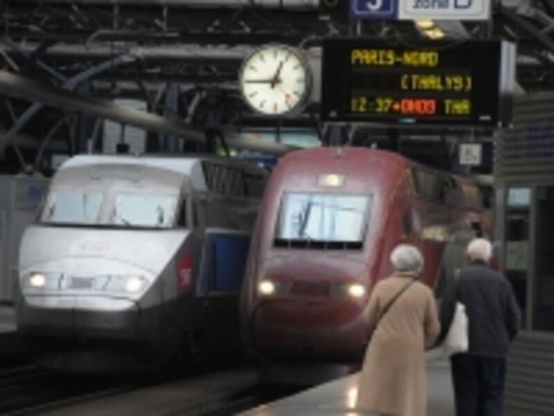ブリュッセル南駅は国際特急のターミナル駅