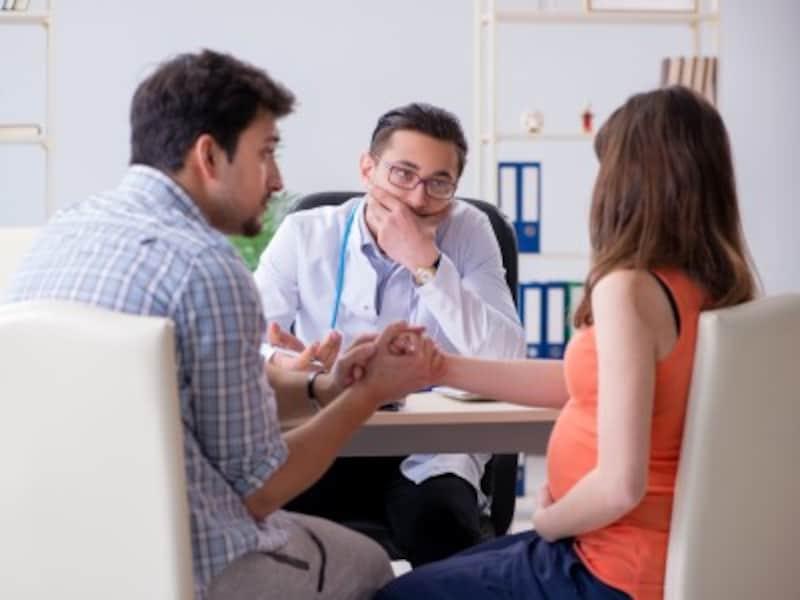 妊娠中の女性・妊婦検診での相談