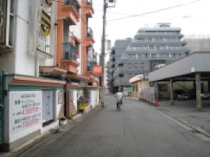 かつての歓楽街