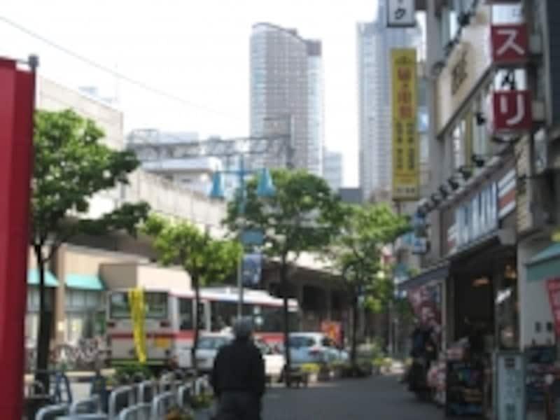 新丸子駅西口