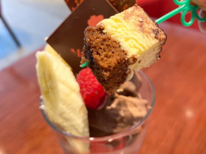 メリーチョコレート「チョコレートパフェ」1600円(税込)