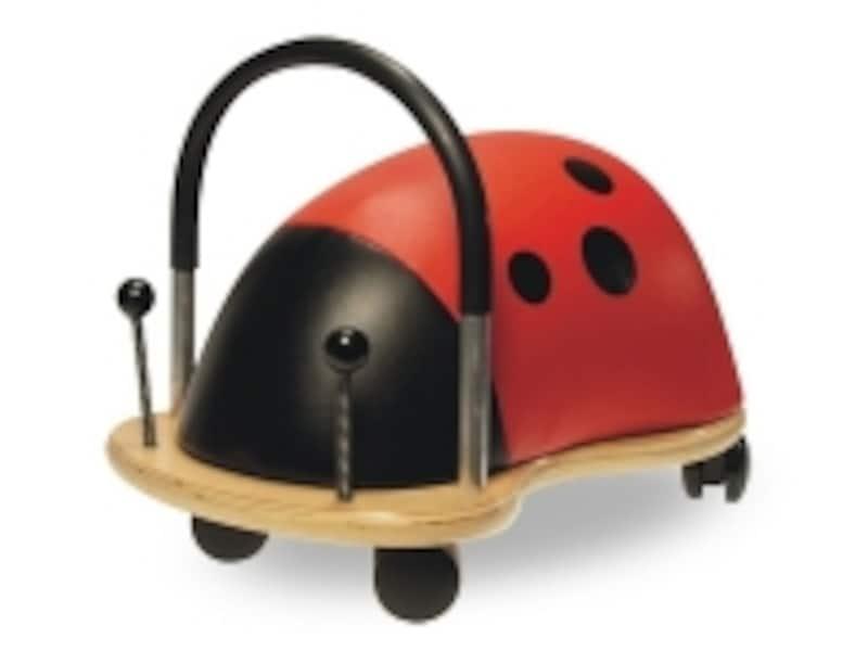 「ウィリーバグ」はSとLの2サイズ。ハンドメイドの乗用玩具です