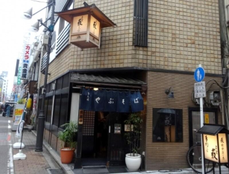 上野の老舗そば店