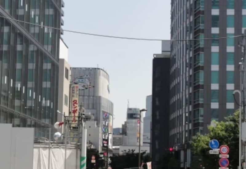 御徒町駅~秋葉原駅間もさほど距離はない。