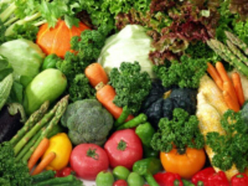 野菜と果物を組み合わせて