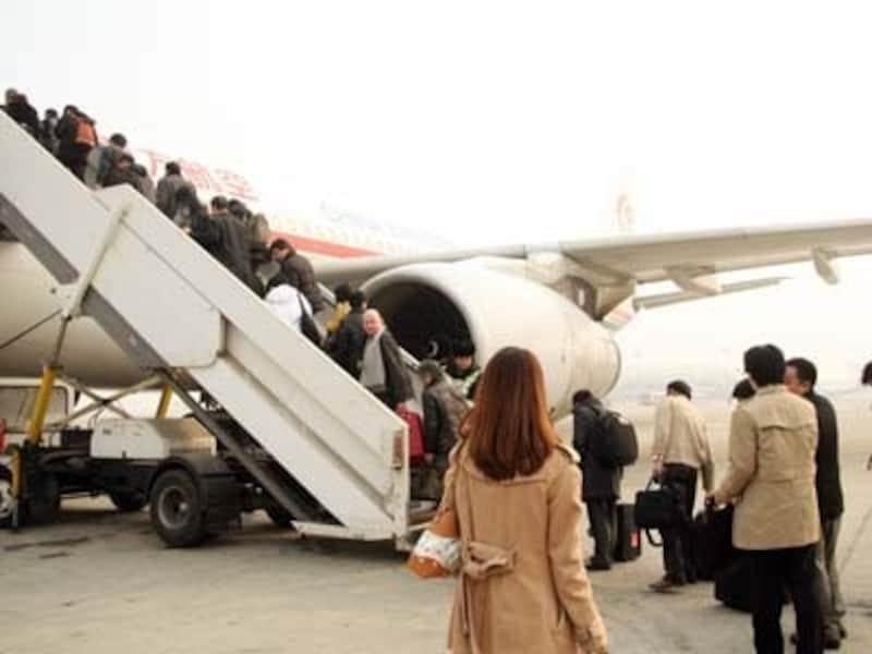 個人旅行の場合は出発前に程度の人民元を用意しておいたほうが無難