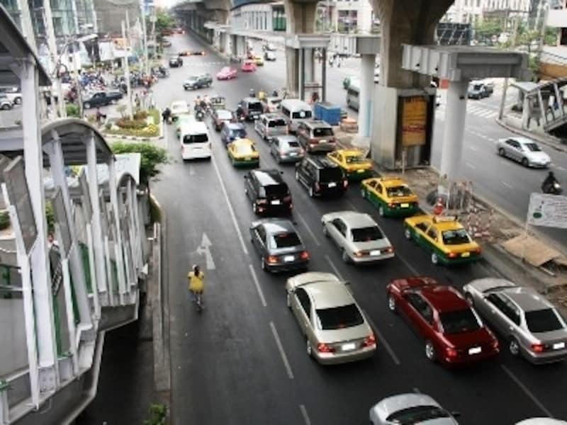 バンコクの渋滞エリア