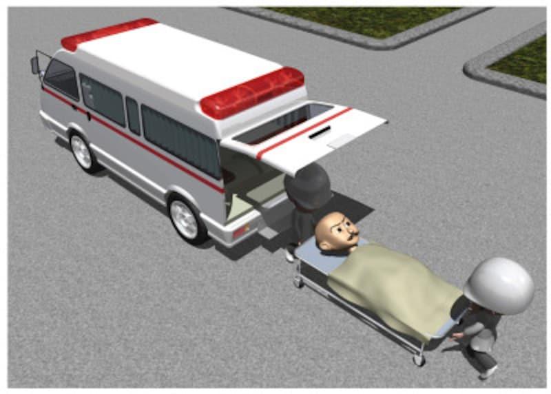 高齢者が自宅で転んで、骨折して、車いすや寝たきりになるケースが増えている