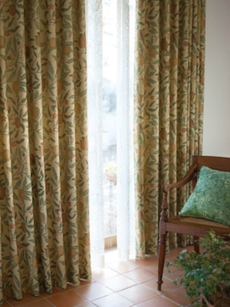 ウィリアム・モリスのカーテン