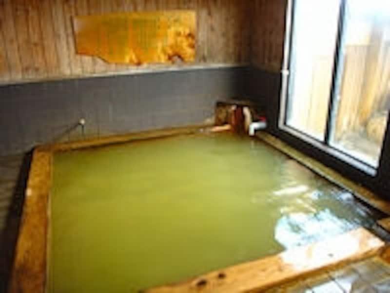 湯元漁火館の内湯