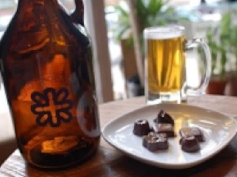 チョコレートとビールをペアリング?