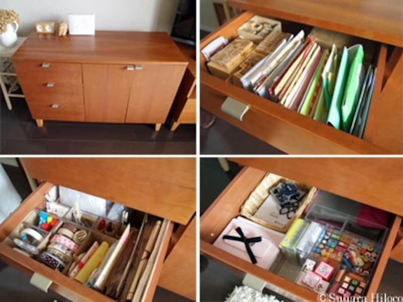 文具や手紙の収納法