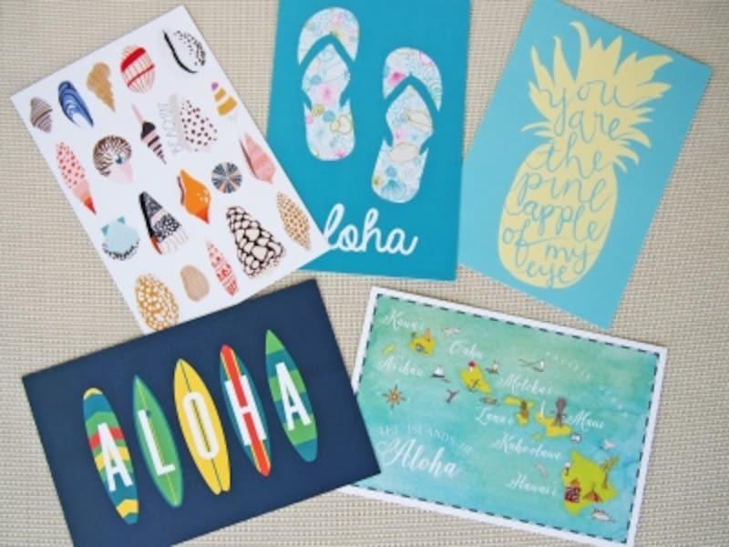 人気インテリア雑貨ショップ「SoHa」で購入したポストカード