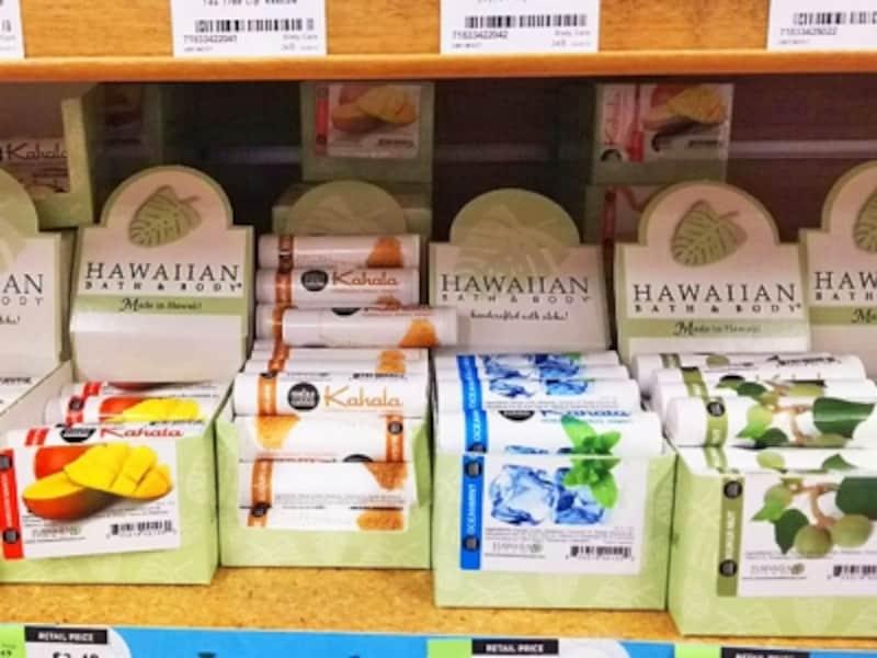 ハワイアン・バス&ボディとホールフーズのホノルル店がコラボしたリップクリーム(3.49ドル)