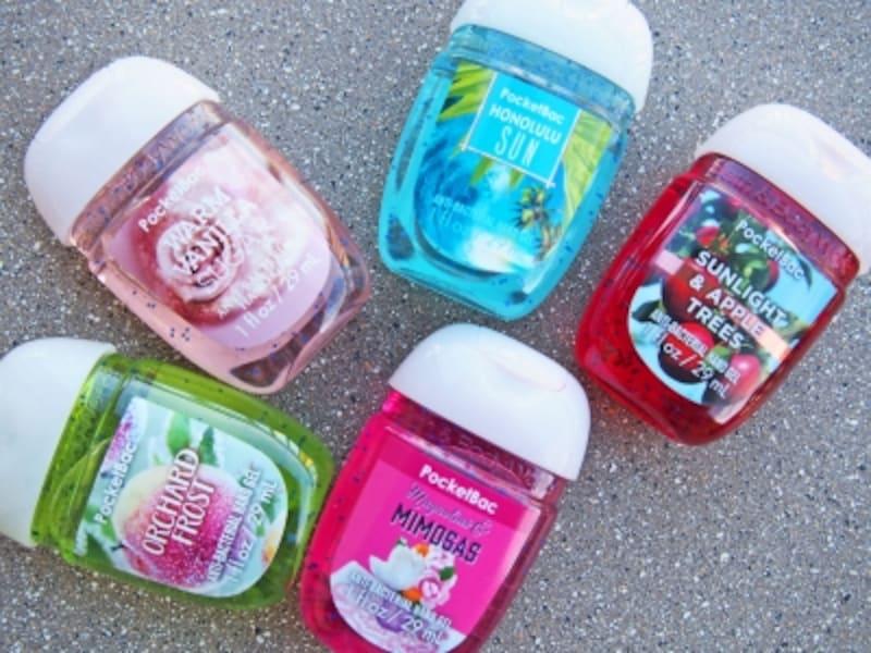 香りの種類が多すぎて迷ってしまうかも!バス&ボティワークスの抗菌ハンドジェル