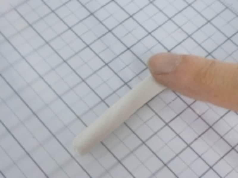 使用する銀粘土は10~15g位。
