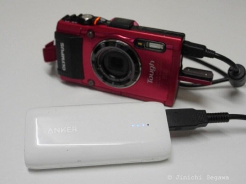 デジカメバッテリー管理