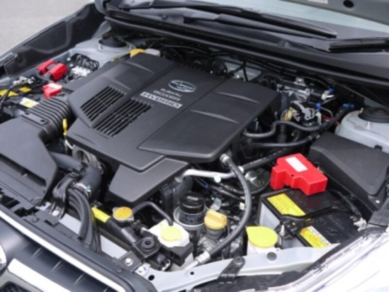 スバルXVハイブリッドエンジン