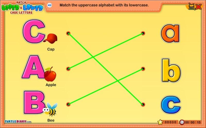 """アルファベットゲーム無料TurtleDiary""""AlphabetGames"""""""