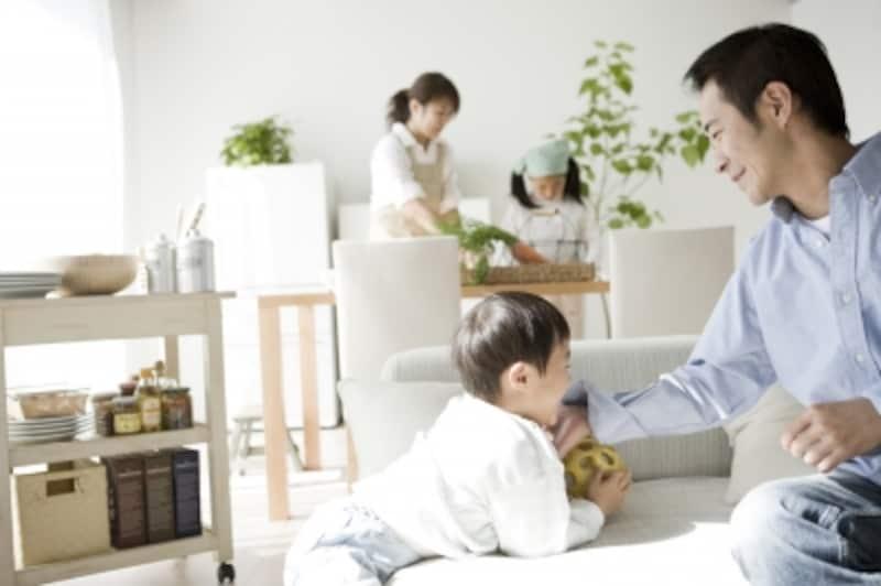 4人家族に向く間取り画像
