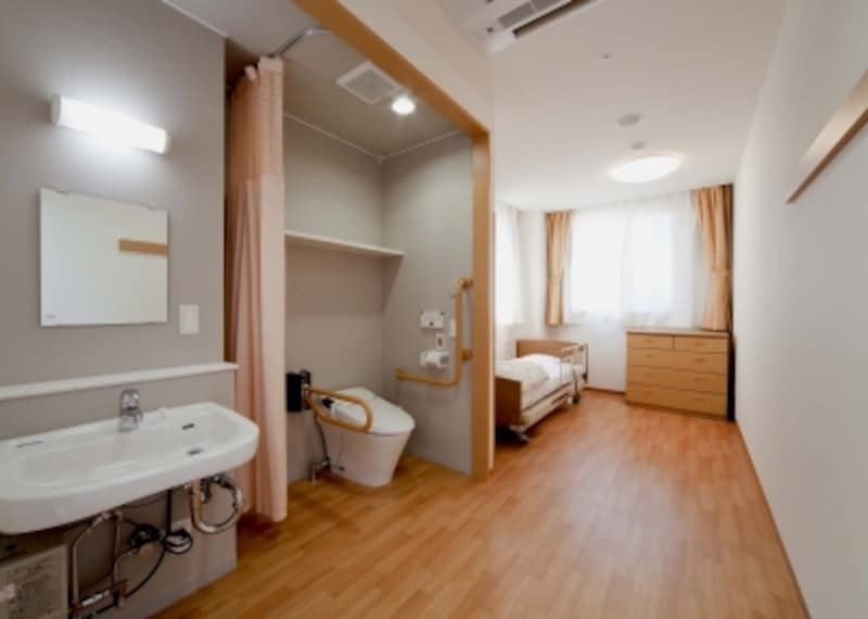 老人ホームや高齢者賃貸マンションの部屋の例