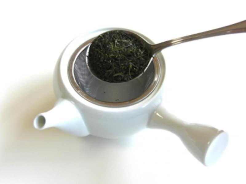 新茶の入れ方手順1